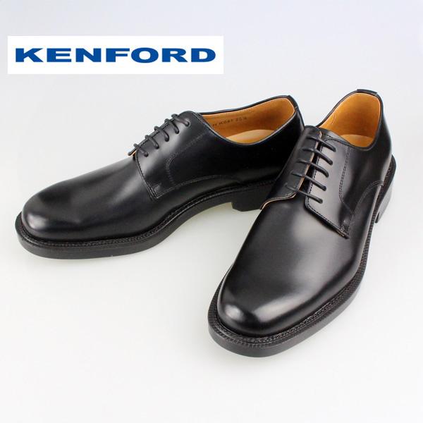 【送料無料】【KENFORD】ケンフォード K641 プレーントウ 3E ブラックビジネスシューズ 靴  シューズ  冠婚葬祭 成人式 メンズ 本革 日本製  REGAL