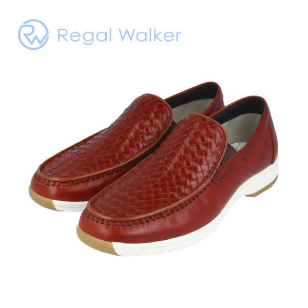 REGALWALKER リーガルウォーカー 323W スリッポン ブラウン レッドブラウン レザー 3E 送料無料 通勤 メンズ