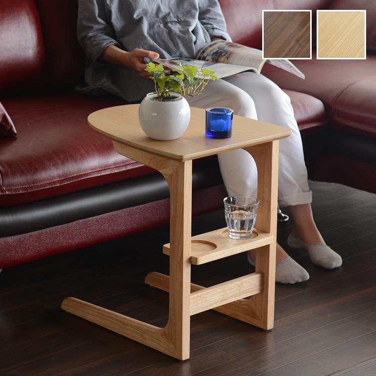 サイドテーブル コンパクトテーブル ナイトテーブル 木製 カラーが選べる ナチュラル ブラウン 茶色 シンプル おしゃれ かわいい モダン