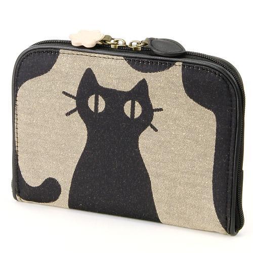 売れ筋 ATSUKO MATANO またのあつこインテリア猫 パスポートジャガード 収納 マルチケース旅行 激安通販専門店 新作通販