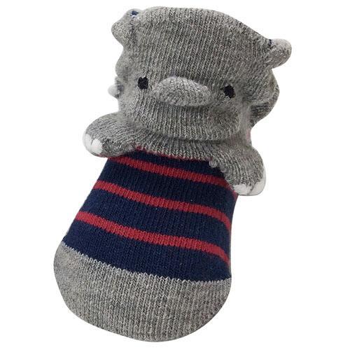 日本の靴下職人さんの作った可愛い赤ちゃん用ソックスプレゼントにも 公式 年末年始大決算 POP UPソックス象 ゾウ 靴下 9~12cmベビー 赤ちゃん用ソックス