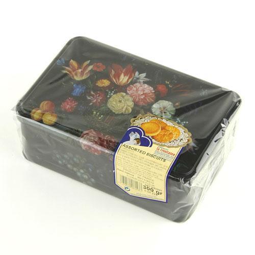 美味しいです ラ トリニテーヌフラワー 缶ガレット 安心の実績 高価 買取 強化中 アウトレット クッキーホワイトデー パレット