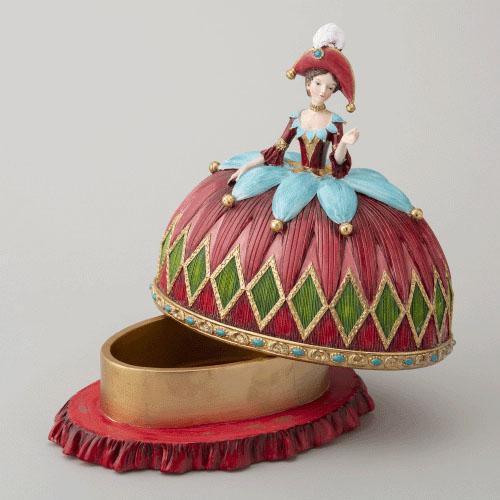 【10月中旬入荷予定】Harmonierくるみ割り人形 女王ハルモニア 小物入れ