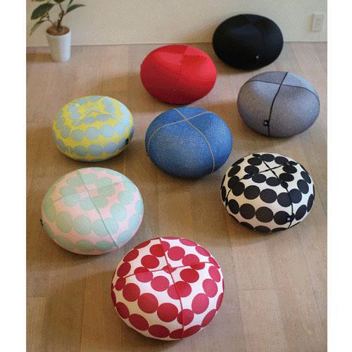 ミニテーブルとしても使える 売店 ジェリープフスツール 円形クッションオットマン Sサイズバランスボール セール品