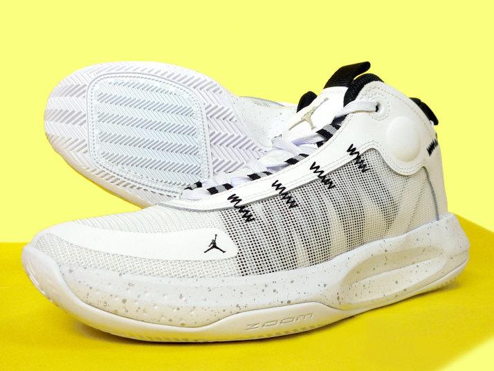 【4月16日発売!】ジョーダン ジャンプマン 2020 PF ホワイト/メタリックシルバー BQ3448-102【バスケットボール】バスケットボールシューズ バッシュ バスケットシューズ 20SU