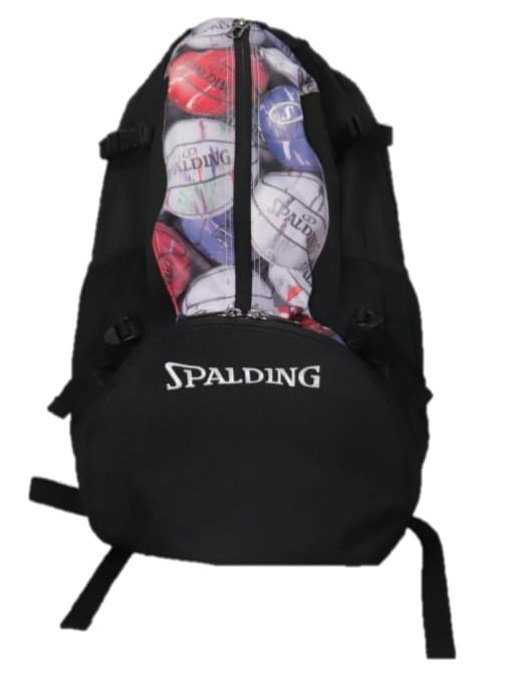 限定カラー!SPALDING(スポルディング) バスケットボール ケイジャー マーブル デイバック(ブラック×マーブル)[40-007MM] 【バスケットボール】 バスケ バッグバックパック リュックサック デイパック ディパック Dパック