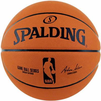 NBAロゴ入り バスケットボール 大放出セール 7号球 お買い得 SPALDING スポルディング ゲームボールレプリカ バスケットボール用品 オレンジ 7号 83-044ZS 送料無料でお届けします ラバー ゴム