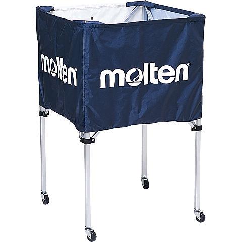 molten(モルテン) バスケ ボールカゴ(中・背高)(ネイビー)[BK20HNV] 【バスケットボール 用品】ボールカゴ ボールかご ボールケース