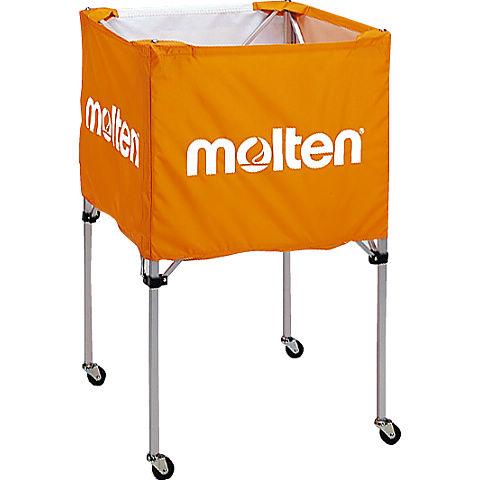 molten(モルテン) バスケ ボールカゴ(中・背高)(オレンジ)[BK20HO] 【バスケットボール 用品】ボールカゴ ボールかご ボールケース