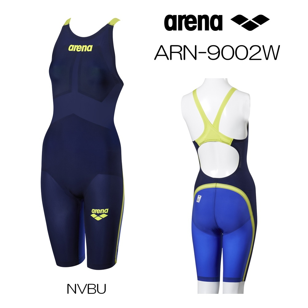 アリーナ 競泳水着 レディース アルティメットアクアフォース ULTIMATE AQUAFORCE MF Fina承認モデル ハーフスパッツフラットクロスバック ARENA オールラウンド 中・長距離 トップモデル ARN-9002W