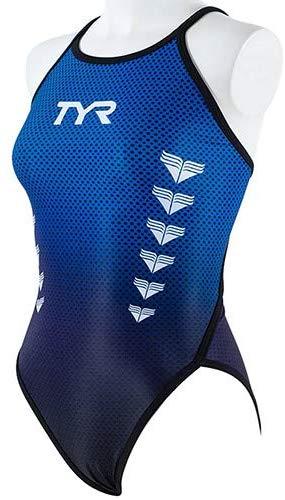 TYR(ティア) レディース 練習水着 ウィメンズフレックスバック(ブルー)[FGARD-19F(BL)] 【水泳 水着】 練習用水着女性用 スイムウェアトレーニング水着 フレックスバック