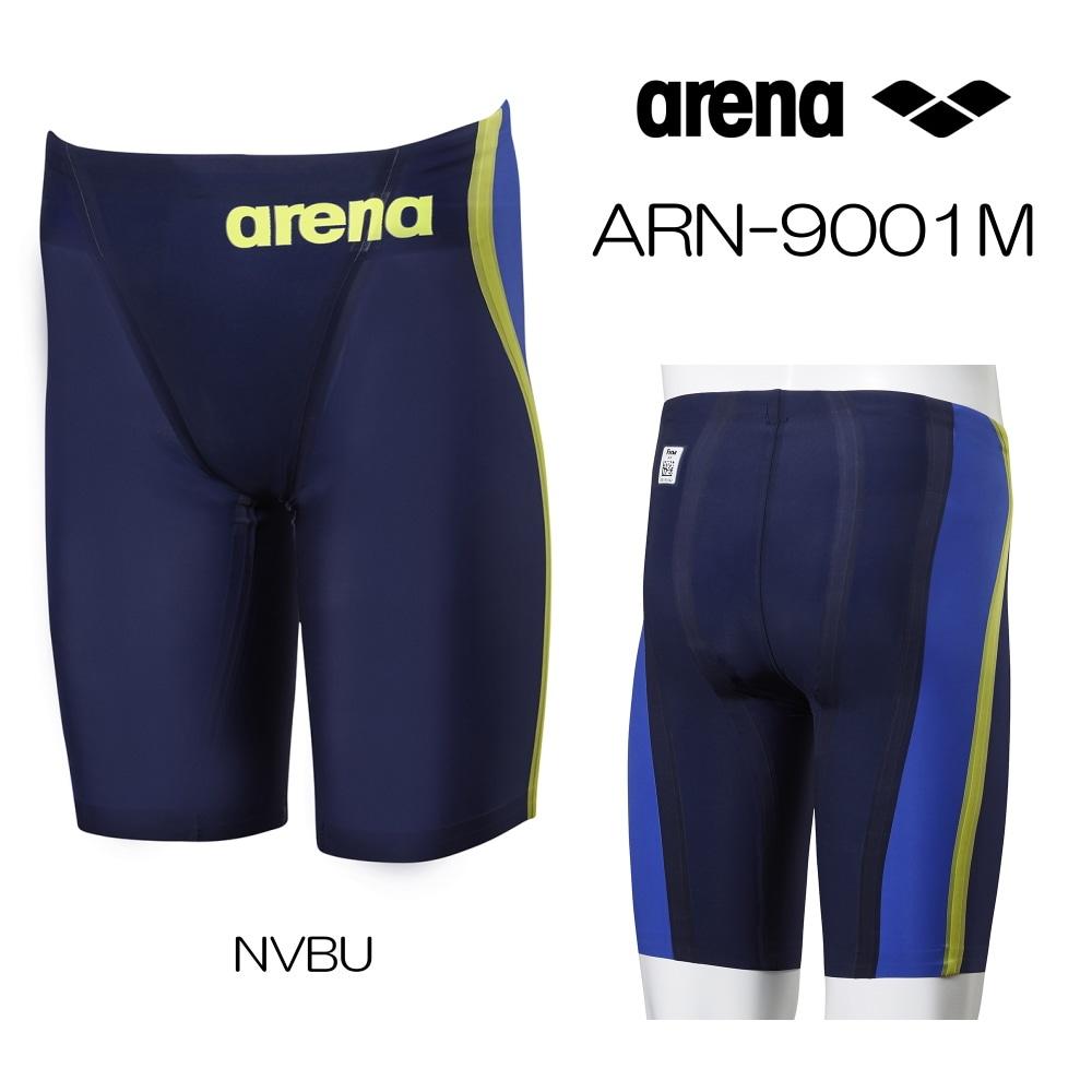 アリーナ 競泳水着 メンズ アルティメットアクアフォース ULTIMATE AQUAFORCE CP Fina承認モデル ハーフスパッツ ARENA 短距離向き トップモデル 水泳 ARN-9001M