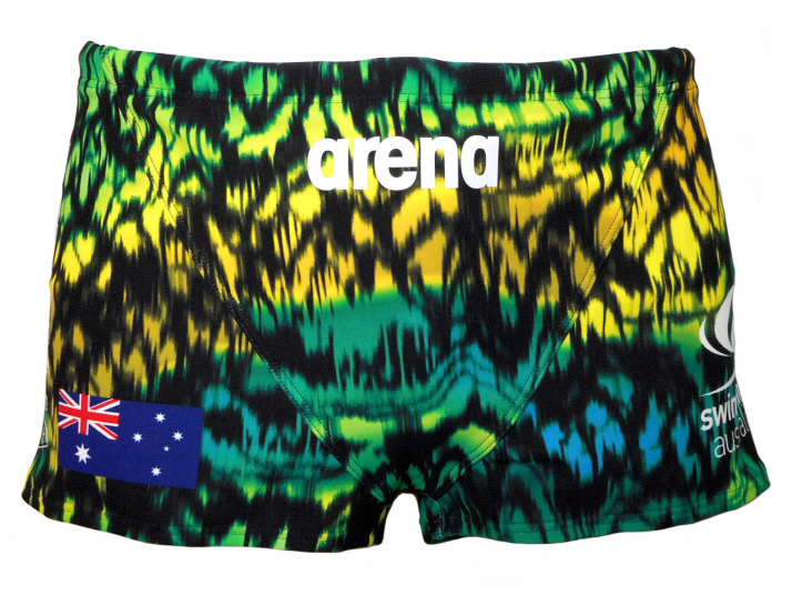 ARENA(アリーナ) メンズ 練習水着 タフスーツ ショートボックス(オーストラリア)[FSA-09631(AUS)]【水泳 水着】 練習用水着男性用 スイムウェアショートスパッツ TOUGH SUIT