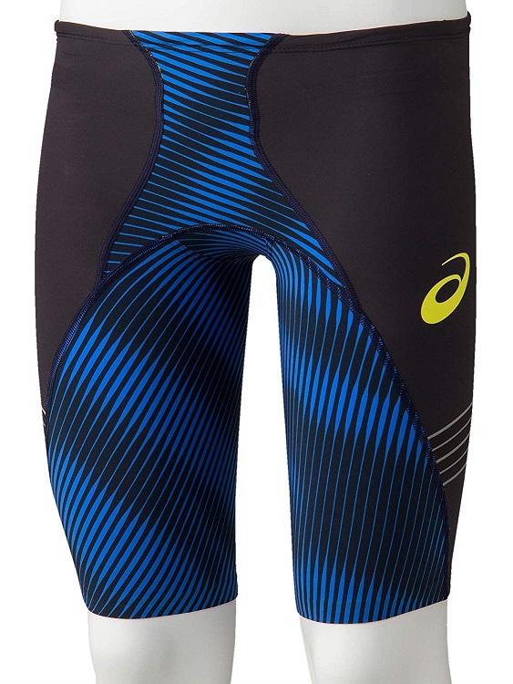 asics(アシックス) FINA認可モデル メンズ 競泳水着 トップインパクトライン 布帛ソーイング縫製モデル スパッツ (アシックスブルー)[2161A041-400]【水泳 水着】競泳用水着 男性用 スイムウェアハーフスパッツ