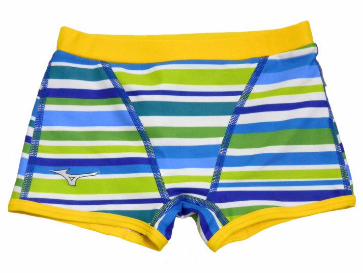 MIZUNO(ミズノ) ボーイズ エクサースーツ ショートスパッツ Rikako Ikee Collection(ブルー)[N2MB996027]【水泳 水着】 練習用水着 男子用 スイムウェアショートボックス