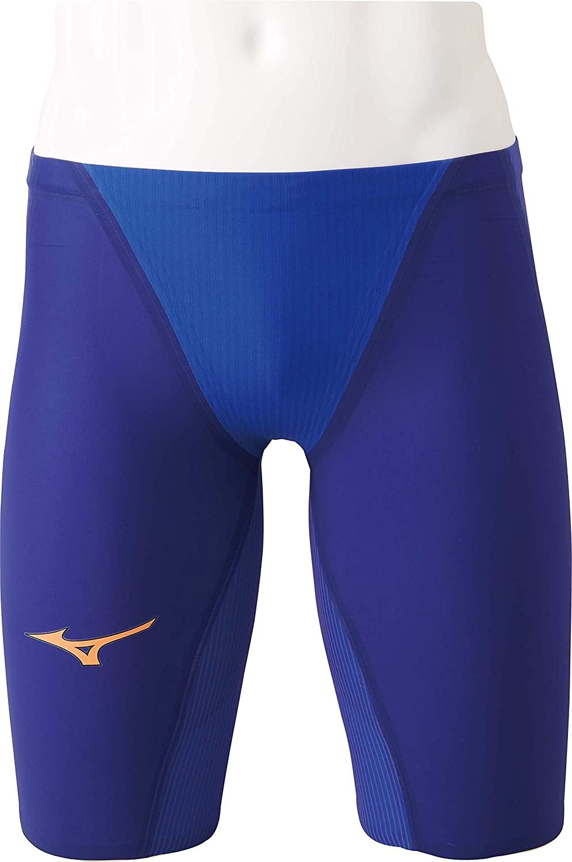 MIZUNO(ミズノ) FINA認可モデル メンズ 競泳水着 GX-SONIC4 MR★マルチレーサーモデル ハーフスパッツ (ブルー)[N2MB900227]【水泳 水着】競泳用水着 男性用 スイムウェアスパッツ