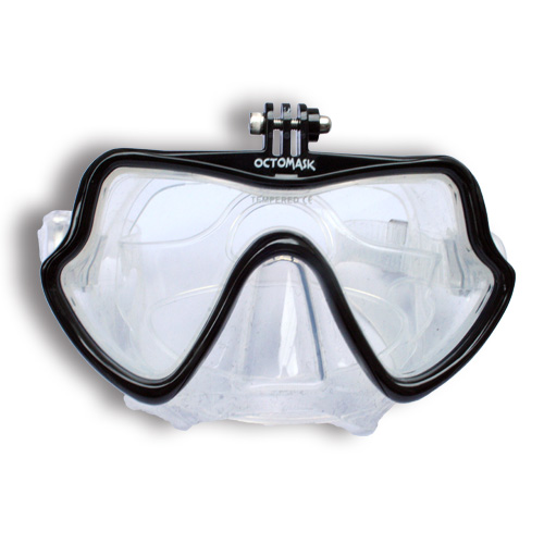 Scuba diving mask OCTOMASK octomask SD21 scuba diving gogglesware love Luke Mera go pro animation photography with a mount for GoPro (HERO2 HERO3 HERO3+) and AEE MagiCam SD21