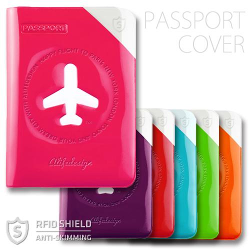 e-パスポート対応のスキミング防止機能付きパスポートカバー オンラインショッピング パスポートカバー ALIFE HAPPY FLIGHT PASSPOR SHIELD 安い 激安 プチプラ 高品質 e-パスポート対応 COVER スキミング防止機能付
