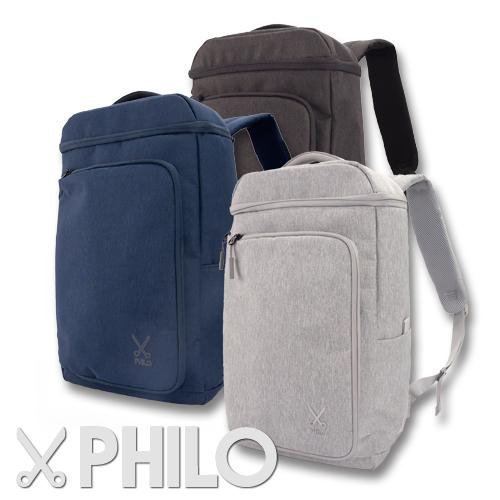 PHILO スマートバックパックUSBポート付き 18L 15ポケット