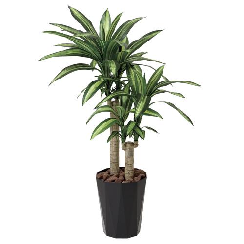 光の楽園 幸福の木 1.1観葉植物 光触媒人工植物W55×D55×H110cm