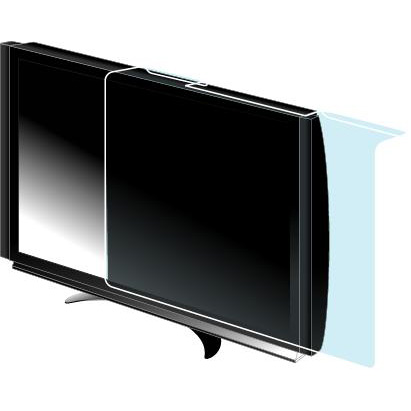 net sharp flat screen protection panel clear walmart 60 inch tv stands overall dimensions of best buy
