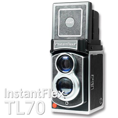 チェキ のフィルムが使える2眼レフインスタントカメラInstant Flex TL70MINT インスタント フレックス【購入特典チェキフィルム1P付き】インスタントフィルム 専用カメラ レトロ プレゼントTBS 王様のブランチ 買い物の達人 で紹介されました