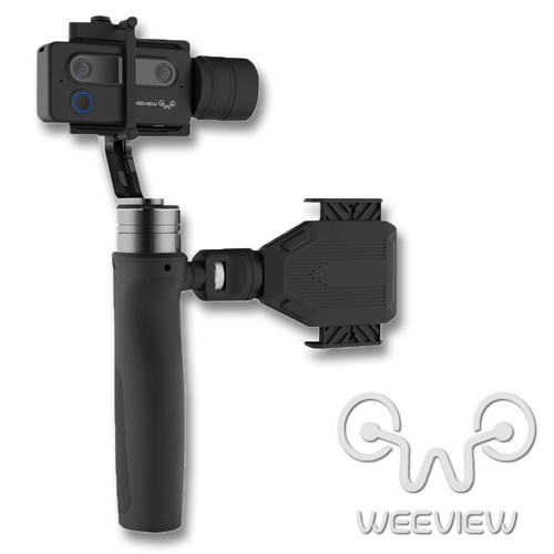 Weeview SID 3D Camera3D CINEMETIC KIT3Dカメラ + 電動3軸ジンバル