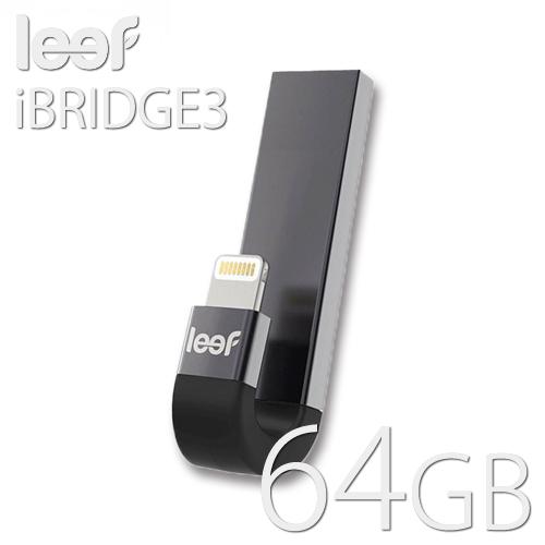 leef iBRIDGE3 mobile memory 64GB iOS用デバイス対応 外部ストレージ