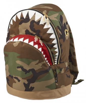 バックパック サメシャークバックパック LL CAMMORN CREATIONS モーン クリエイションズ【送料無料】鮫 シャーク 鞄 カバン リュック