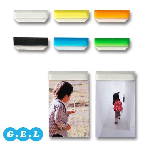 壁を傷つけず貼り付け可能なジェル素材のフォトフレーム(keyword:写真 ポスター インテリア 壁 装飾) G.E.L ジェル バーフレーム貼って剥がせる フォトフレーム