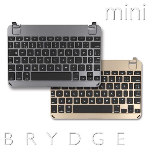 キーボードBRYDGE MINI iPad用 BluetoothキーボードiPad mini 1 / iPad mini 2 / iPad mini 3 対応