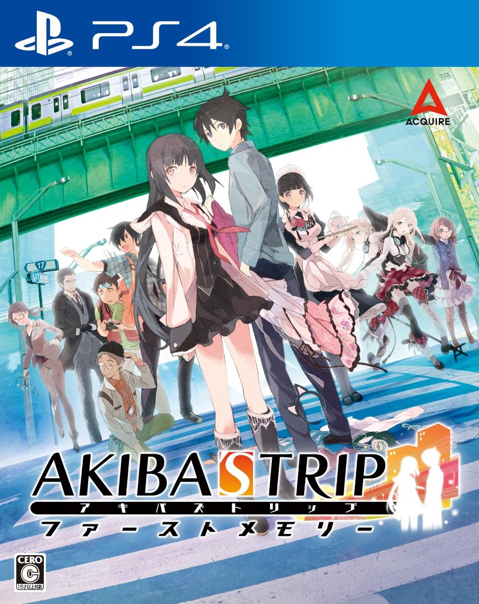 PS4 【楽天ブックス限定特典+特典】AKIBA'S TRIP ファーストメモリー PS4版(マイクロファイバークロス+【初回購入特典】外付けクリアシール)