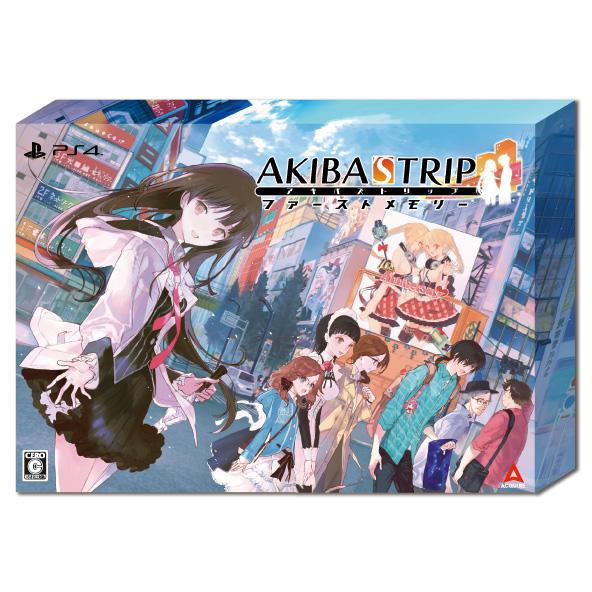 PS4 【楽天ブックス限定特典+特典】AKIBA'S TRIP ファーストメモリー 初回限定版 10th Anniversary Edition PS4版(マイクロファイバークロス+【初回購入特典】外付けクリアシール)