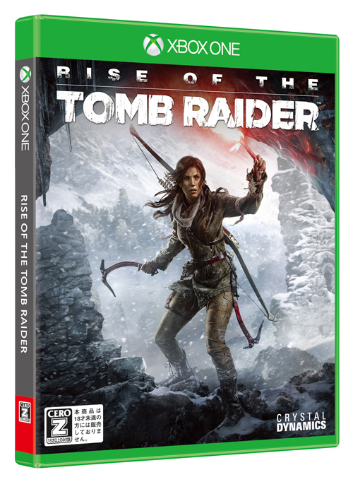 Rise of the Tomb Raider XboxOne版