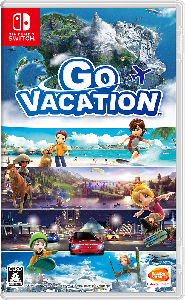 48d258c8815c 楽天ブックス: GO VACATION - Nintendo Switch - 4902370541298 : ゲーム
