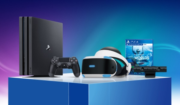【予約】PlayStation4 Pro PlayStationVR Days of Play Pack 2TB