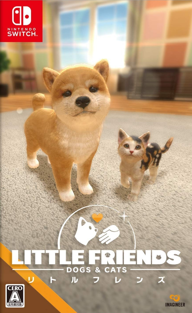 LITTLE FRIENDS - DOGS & CATS -