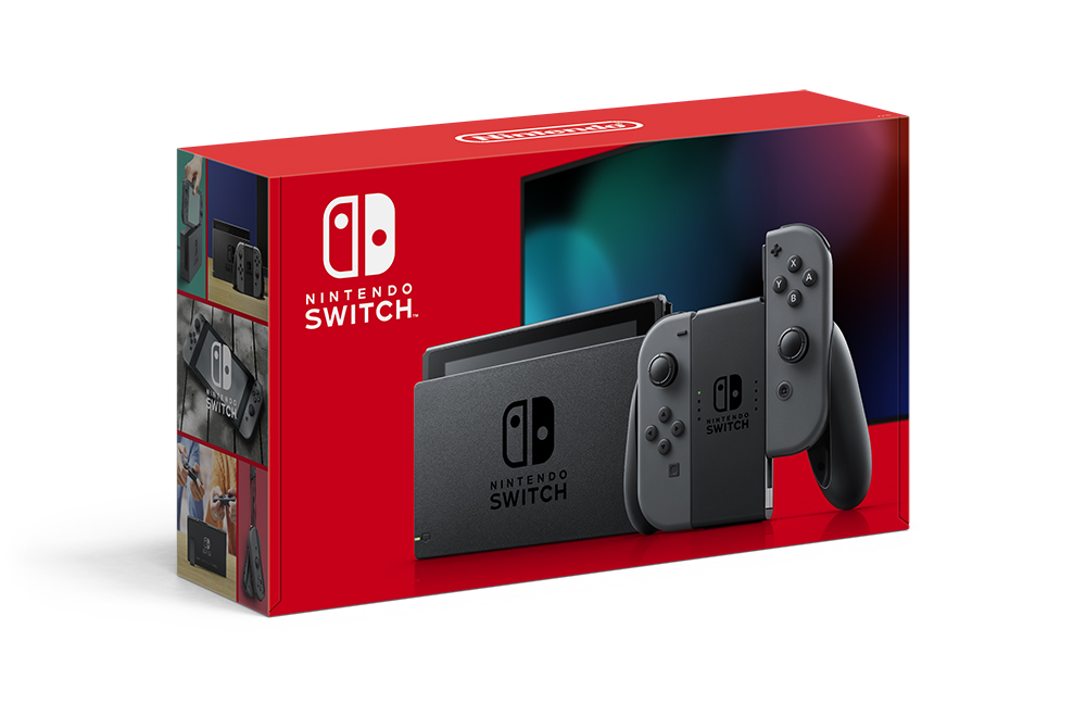 【入荷予約】Nintendo Switch Joy-Con(L)/(R) グレー