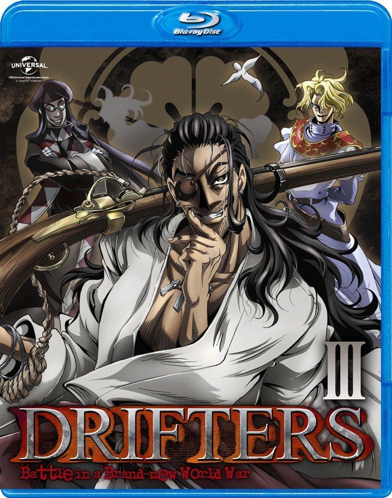 DRIFTERS 第3巻【Blu-ray】