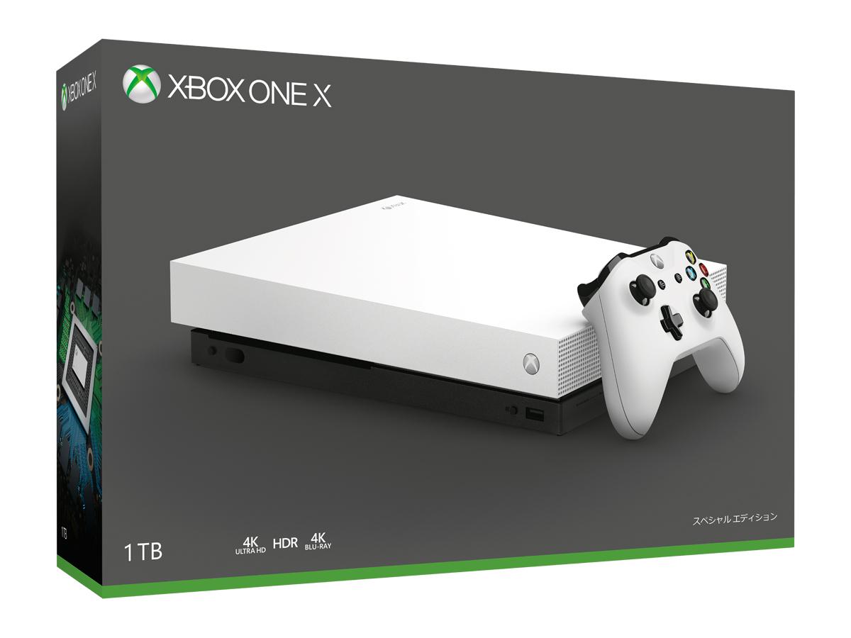 Xbox One X ホワイト スペシャル エディション【楽天ブックス】