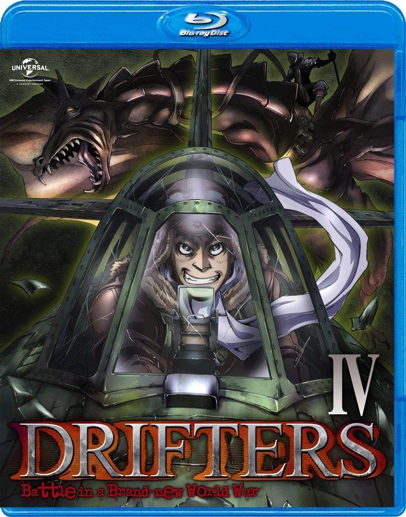 DRIFTERS 第4巻【Blu-ray】