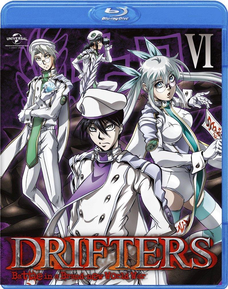 DRIFTERS 第6巻【Blu-ray】