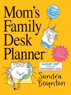 楽天ブックス mom s family desk planner calendar 2018 sandra