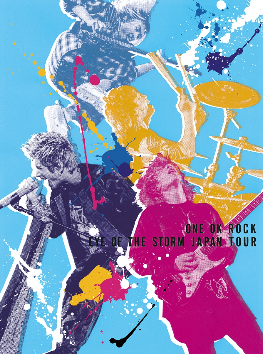 "ONE OK ROCK ""EYE OF THE STORM"" JAPAN TOUR 2020年10月28日発売"