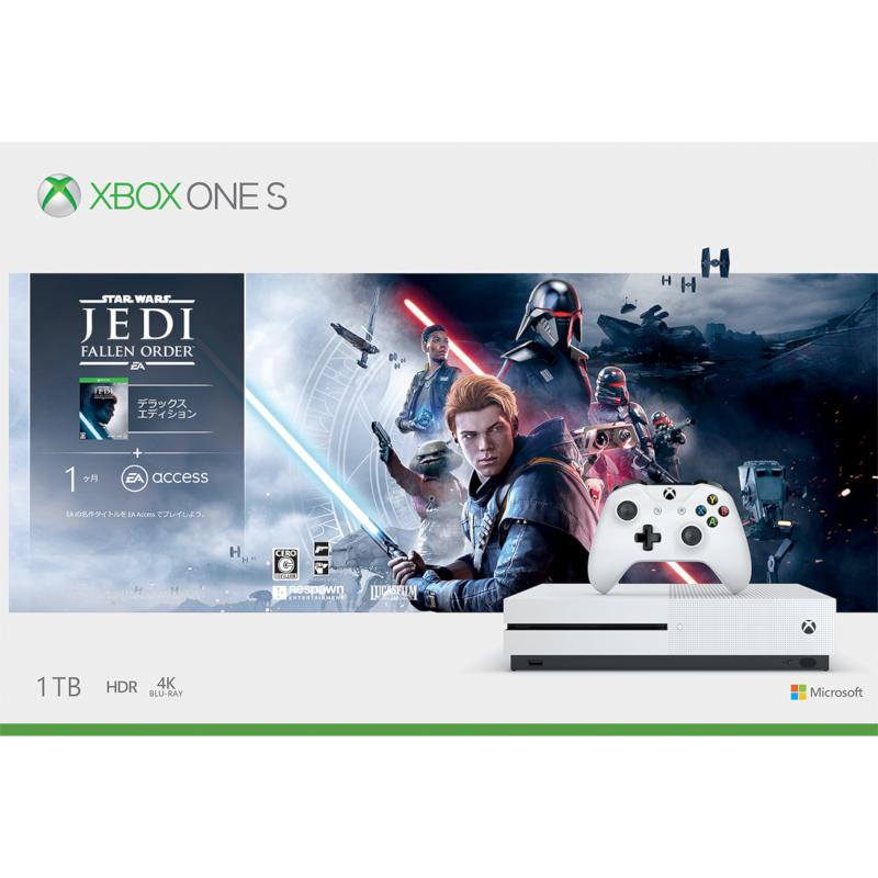 Xbox One S 1 TB (Star Wars ジェダイ:フォールン・オーダー デラックス エディション 同梱版)