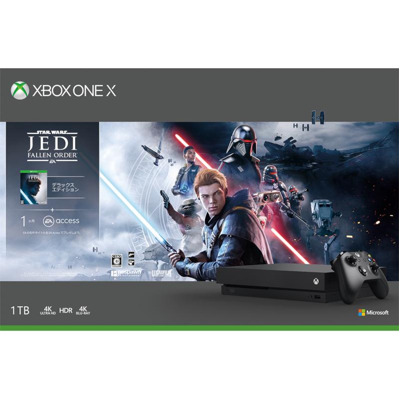 Xbox One X (Star Wars ジェダイ:フォールン・オーダー デラックス エディション 同梱版)