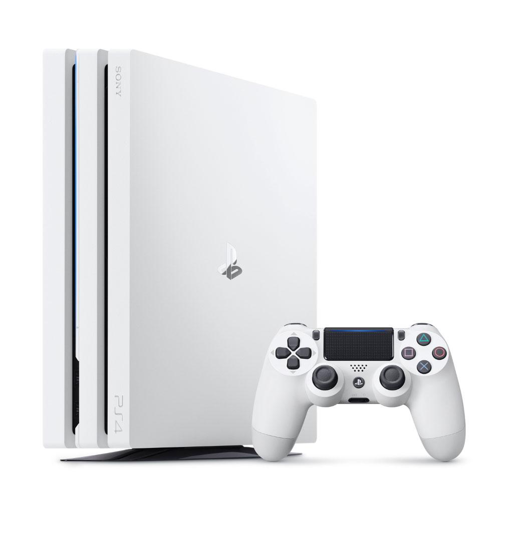 【入荷予約】PlayStation4 Pro グレイシャー・ホワイト 1TB
