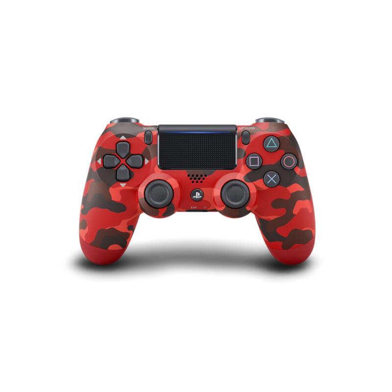 PS4 ワイヤレスコントローラー(DUALSHOCK 4) レッド・カモフラージュ