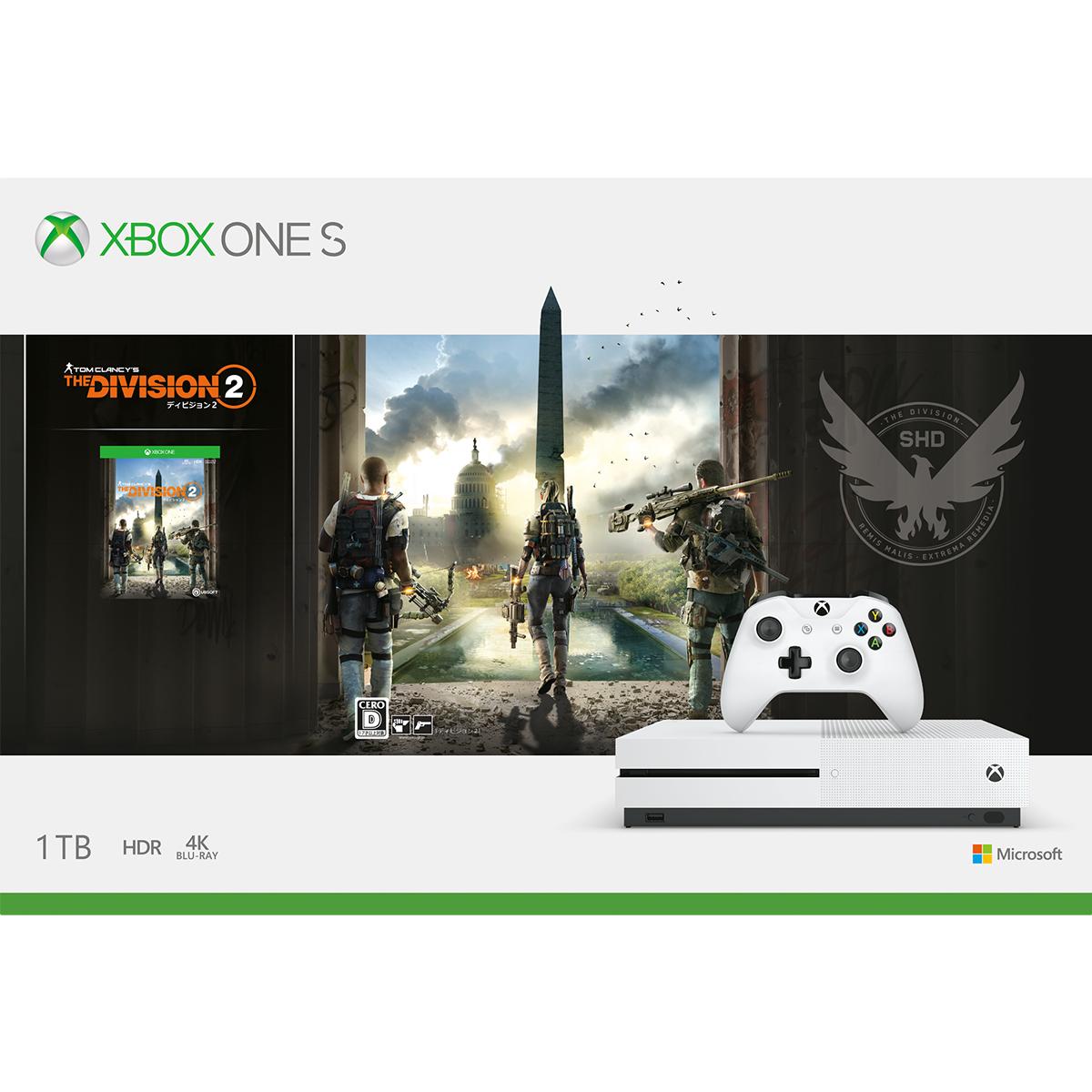 Xbox One S 1 TB (ディビジョン2 同梱版)【楽天ブックス】