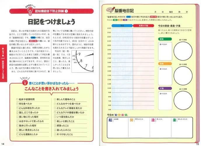 認知症日記付け方